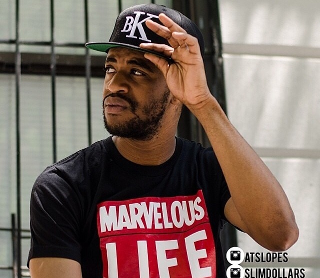 Got the chance to have Harlem rap artist, producer, and songwriter Slimdollars, model for our brand. He's wearing our marvelous life tee and bk hat in one photo, and in the other our New York posse SnapBack and classic tee. You can buy all these items in our shop section. Check out slimdollars music at  www.reverbnation.com/slimdollars1