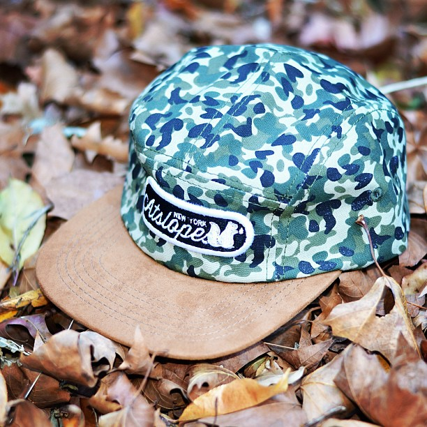 Double tap if you want to buy this camper hat! Thinking about releasing it next week! #streetwear#staple#atslopes#squirrelife#2013#japan#yale#jungle#camo#blend#magic#newyork#cali#apple#fire#heat#sneakers#jordans#nike#karmaloop#kazbah#westchester#yonkers#4ucaps
