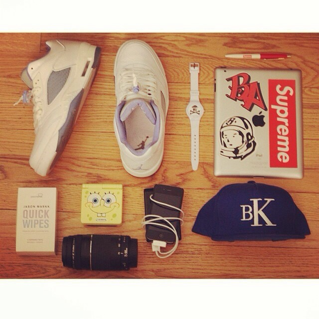 Start your day with the right essentials, photo features our Bk SnapBack from our Spring/Summer collection