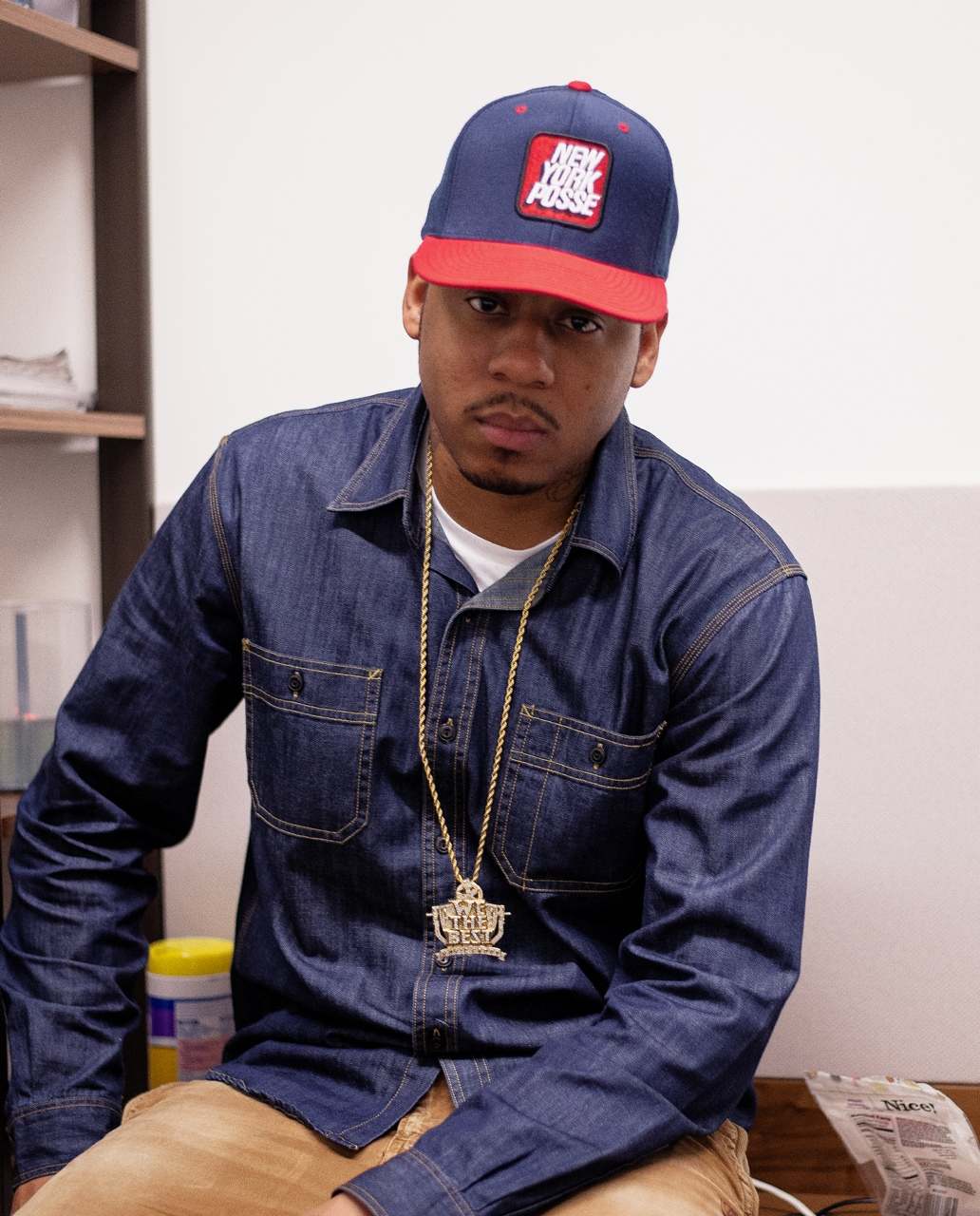 Vado wearing our New York Posse SnapBack