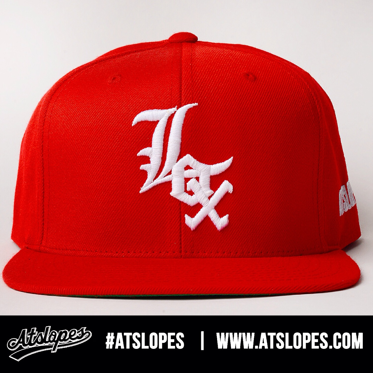 Red LOX SnapBacks are now available on our online shop  www.atslopes.com