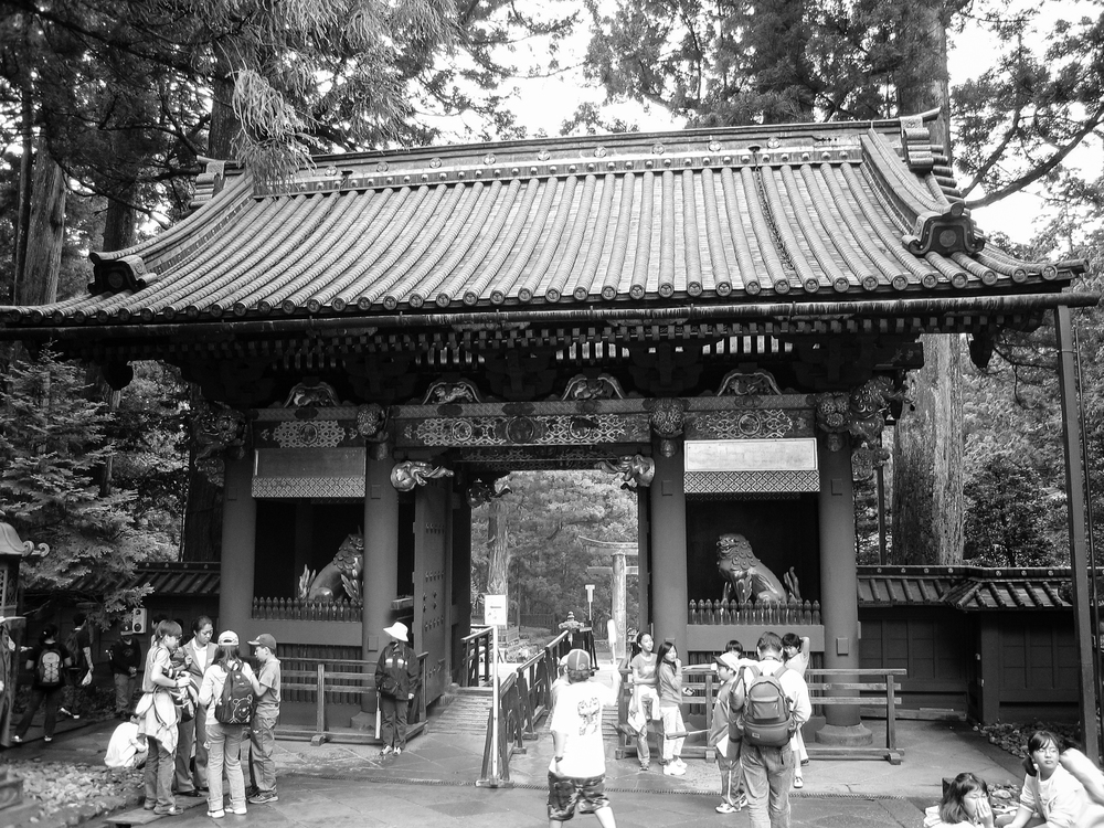 One of many ornate gates at Nikkō Tōshō-gū Shinto Shrine.