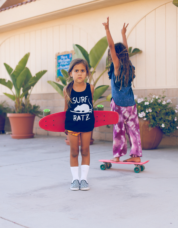 Tank:  Knox & Lola  | Shorts:  Children of the Tribe  | Shoes: Vans