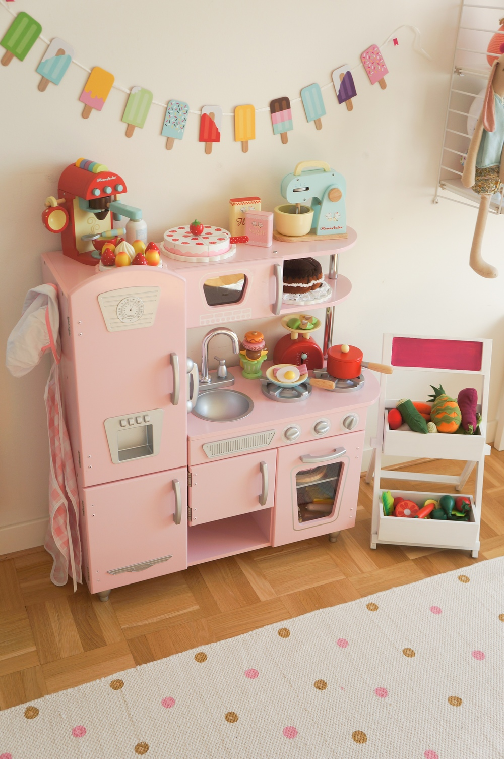 Room tour kidsdesignlife mini style for Play kitchen designs