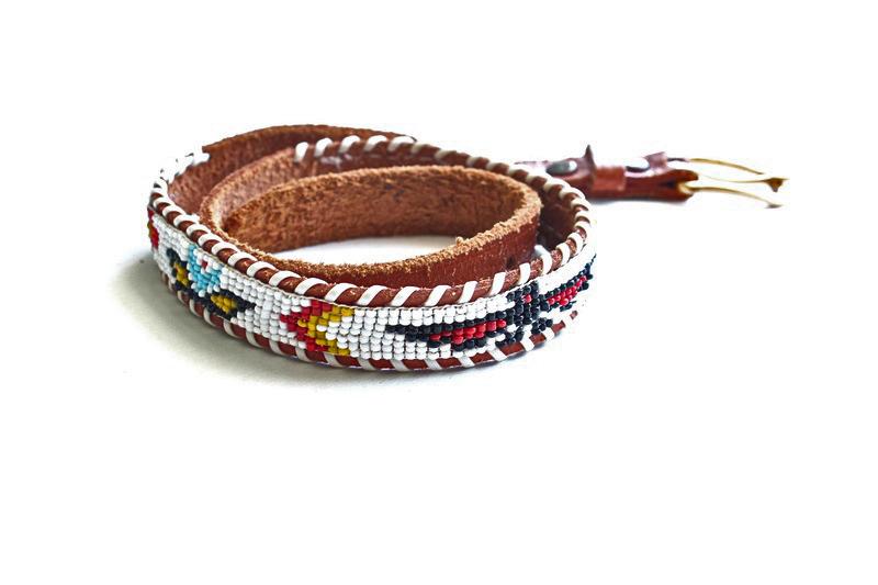 Vintage Kids Native Belt
