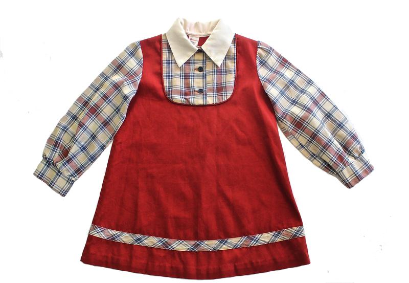 Vintage Girls School Dress