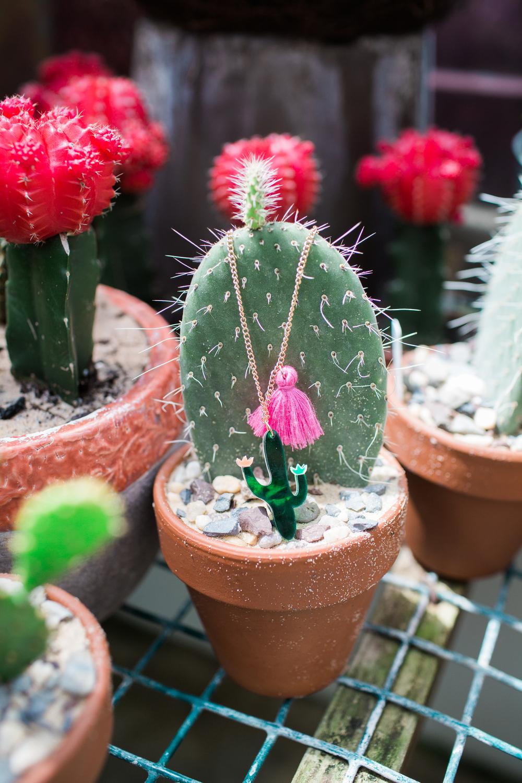 Meri Mari cactus necklace