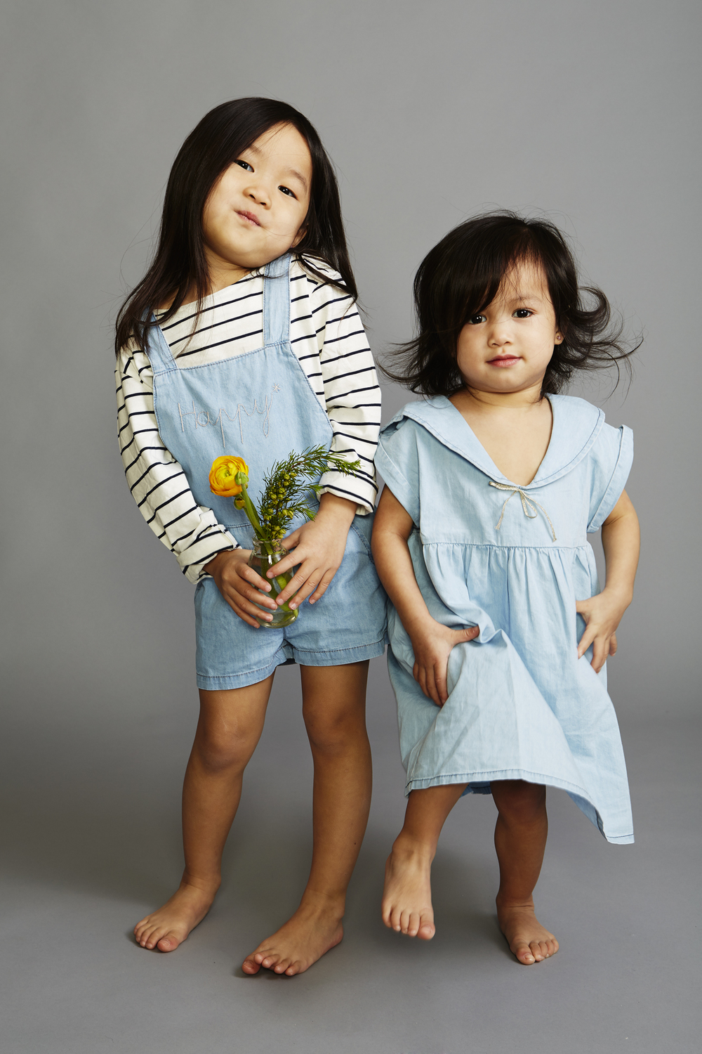 Emile et Ida romper, dress and shirt