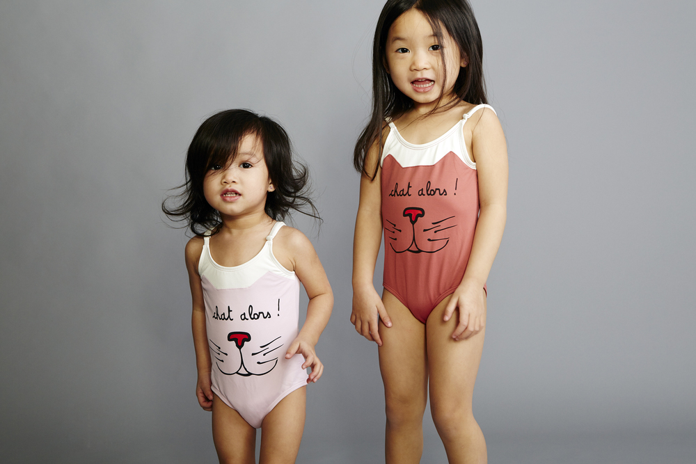 Emile et Ida Chat Swimsuits
