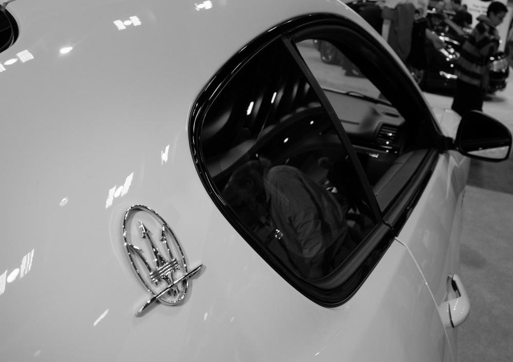 Maserati badge