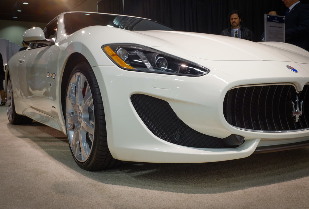 Maserati front end
