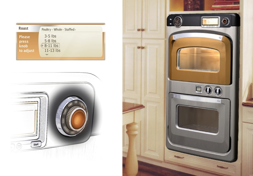 "Turbochef oven, interface, and ""speed knob"""