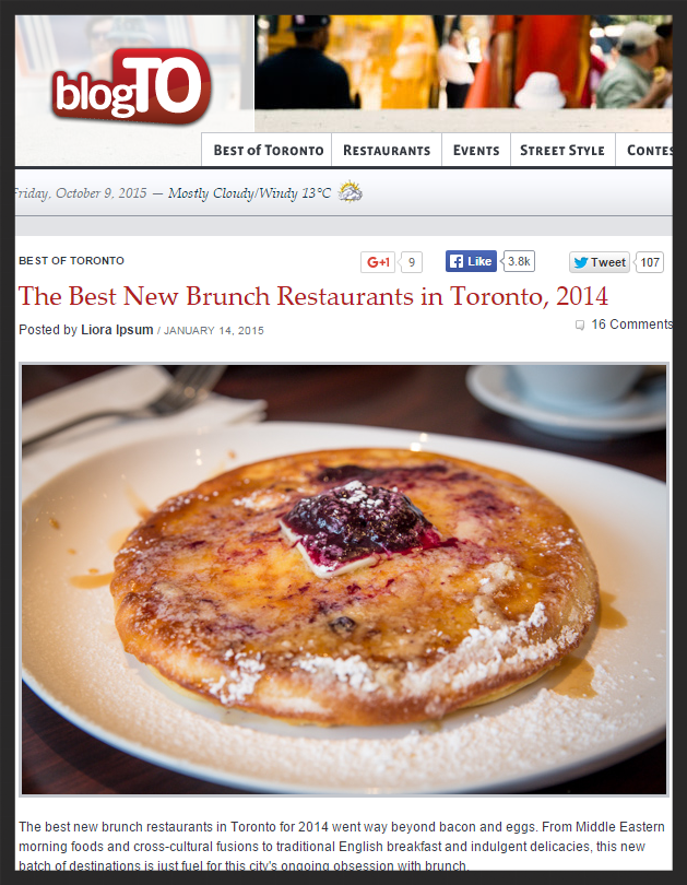 http://www.blogto.com/toronto/the_best_new_brunch_restaurants_in_toronto_2014/