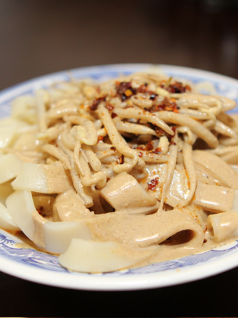 Sesame Paste Cold Noodle