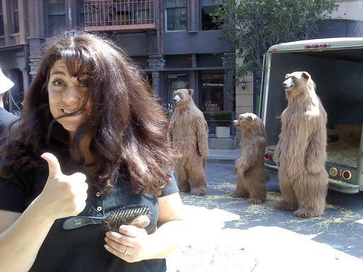 Bear Costume Draper Construction Hair Details Kerry Jo Bauer