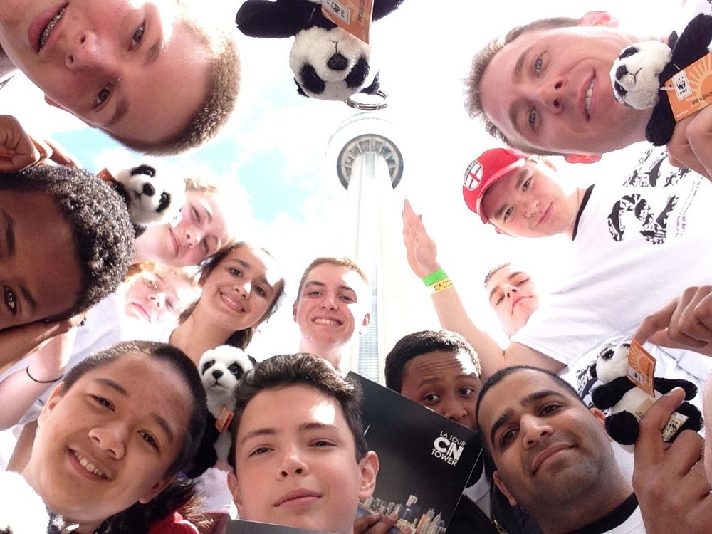 World Wildlife Fund CN Tower Climb