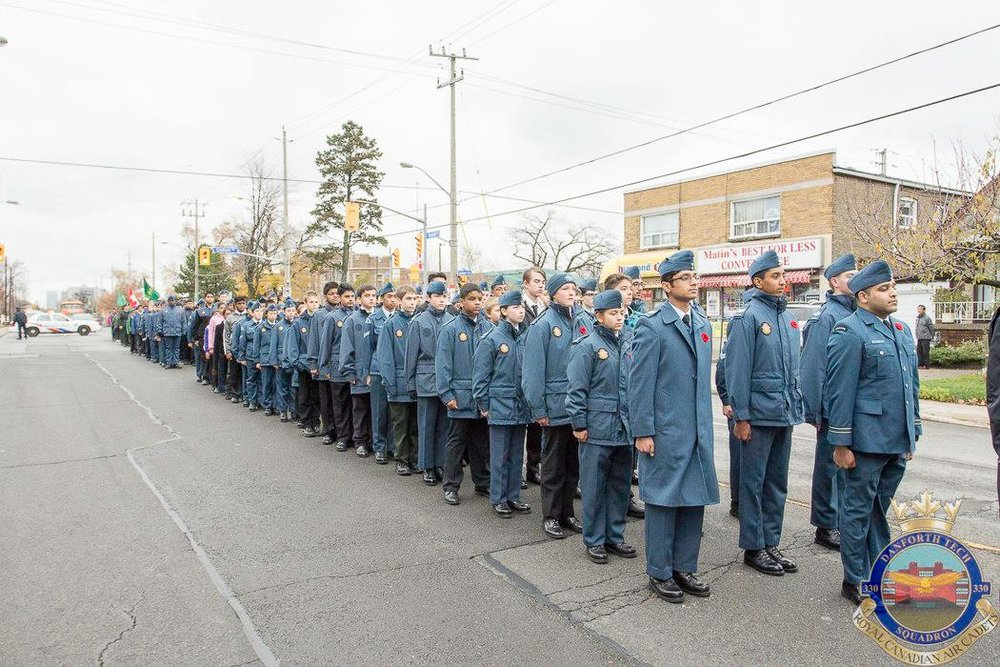 Rememberance Day Parade & Commanding Officers Parade