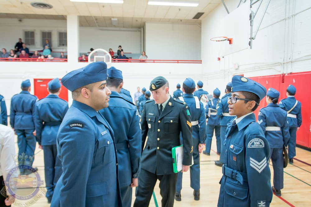 Commanding Officer's Parade   January