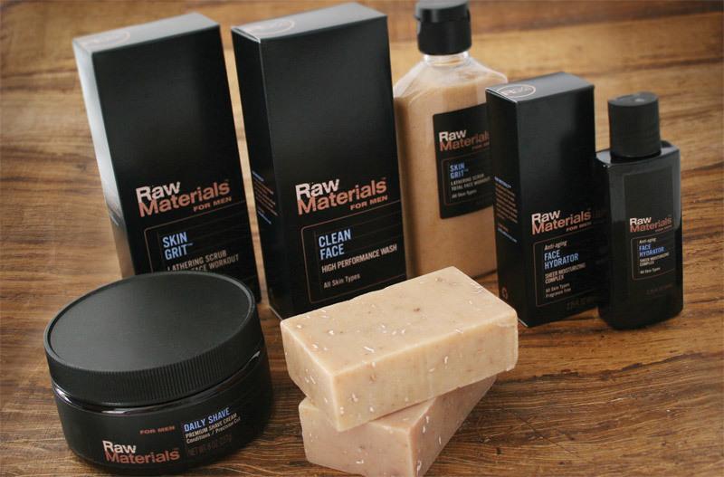 Raw Materials brand design