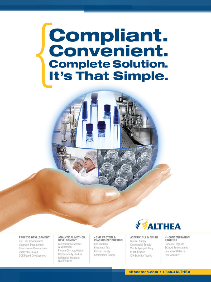 Althea advertising design