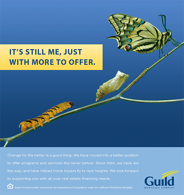 Guild Mortgag advertising design