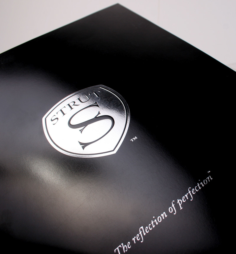 Strut brochure design