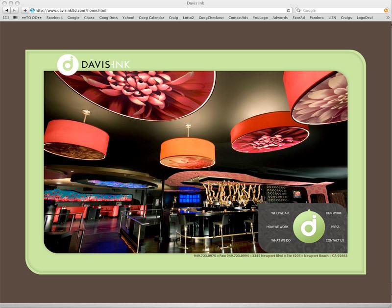 Davis Ink website development