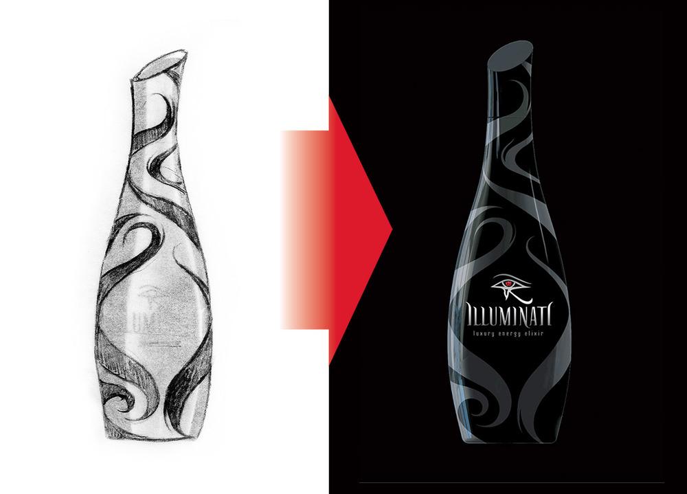 Illuminati structrual packaging