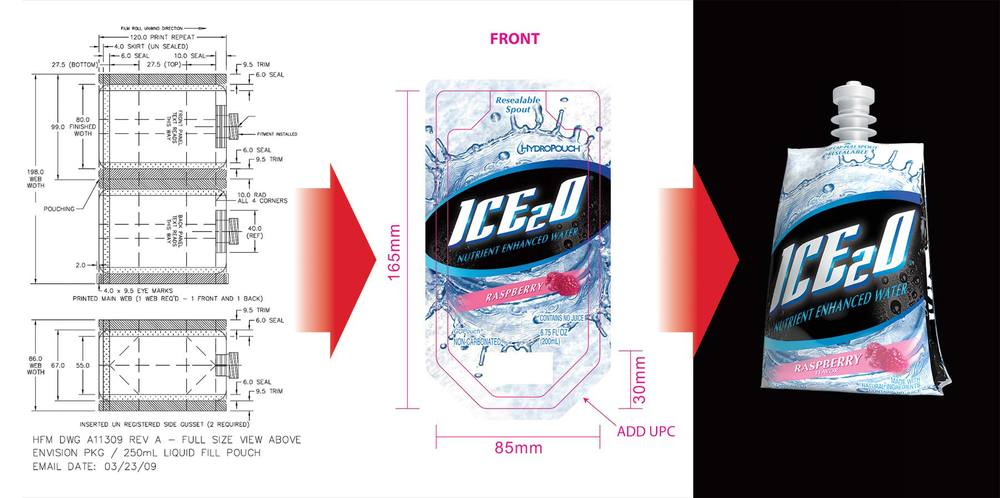 Ice20 Structural packaging