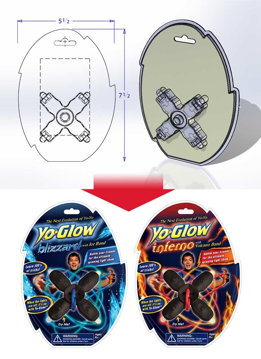 Yo Glow Structural Packaging
