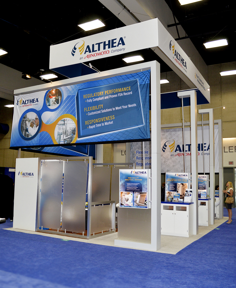 Althea Trade Show Design - BIO Conference 2014