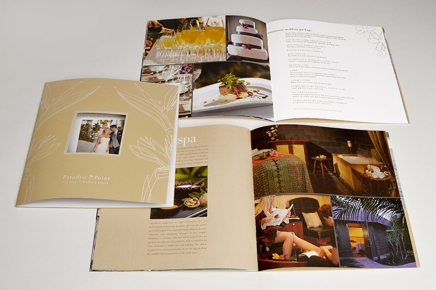 Paradise Point brochure design