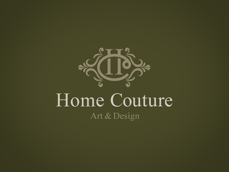 Home Couture logo design