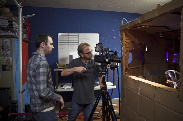 joshfunk the spaceman behind the scenes 1.jpg