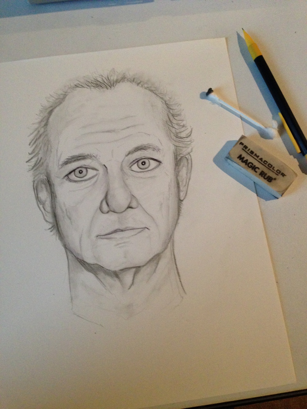 Bill Murray Drawing Josh Funk