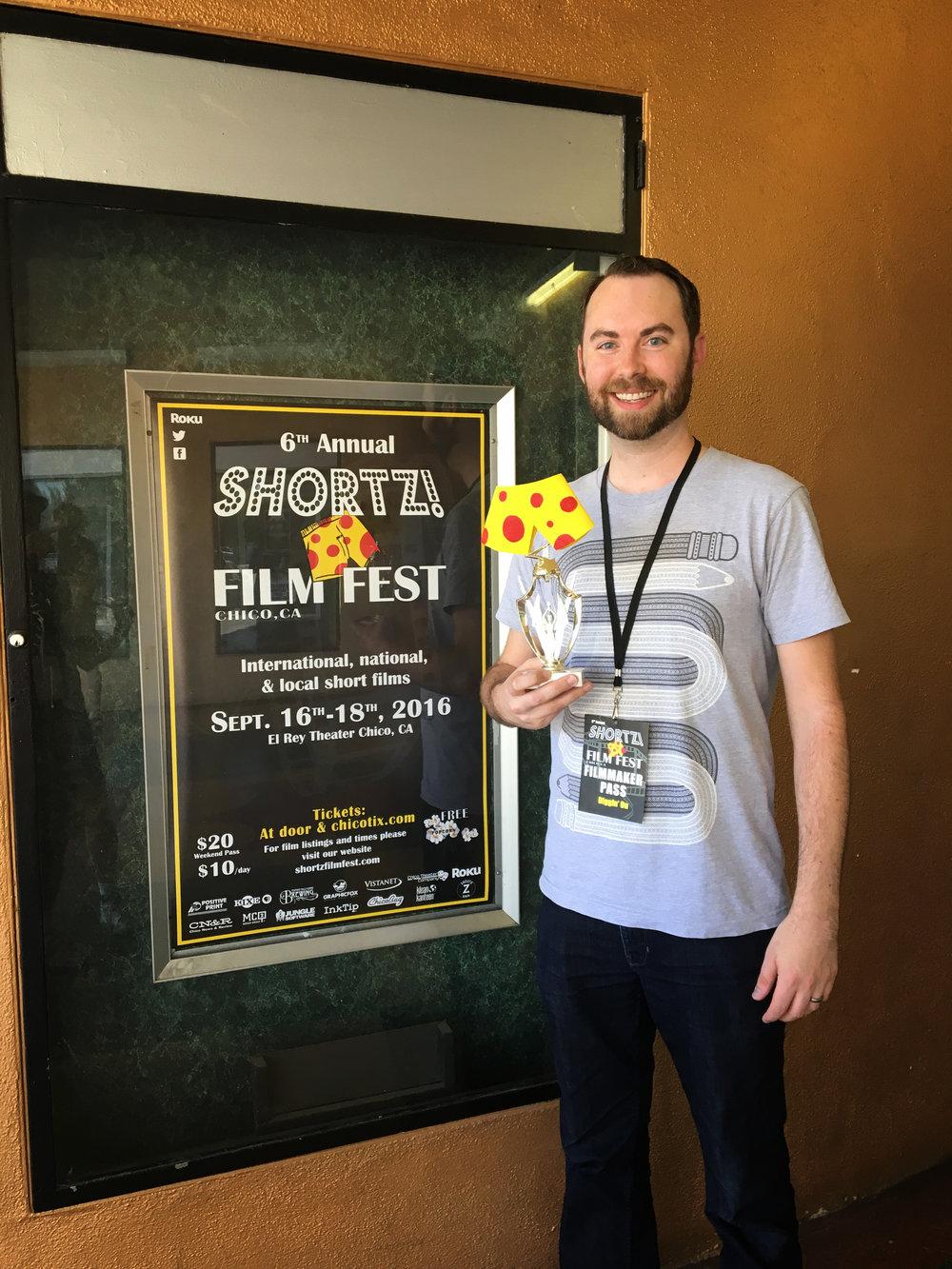 Josh Funk Wins Award
