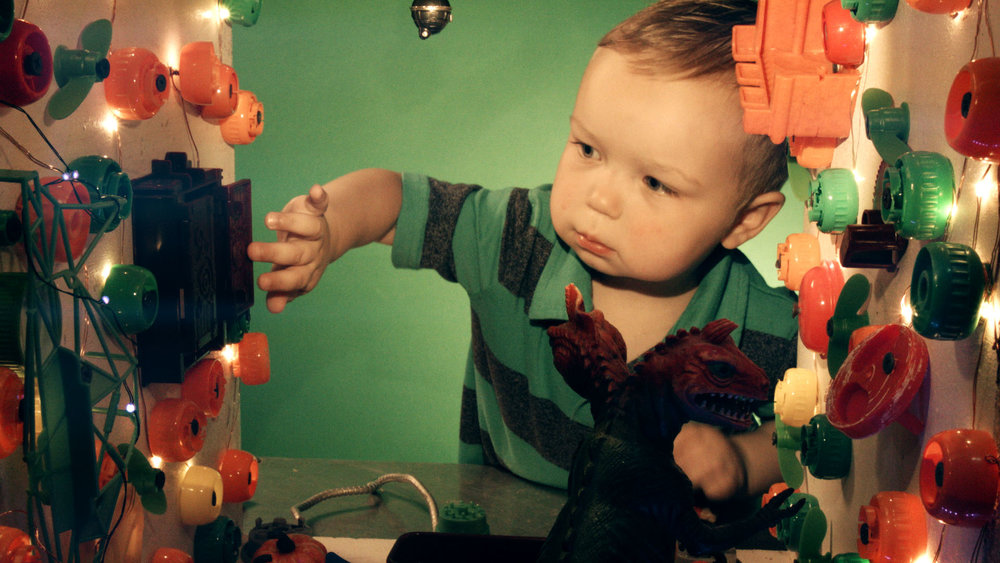 "Josh Funk's stop-motion film ""Toy Box"" brings to life action figures his 2-year-old son plays with."