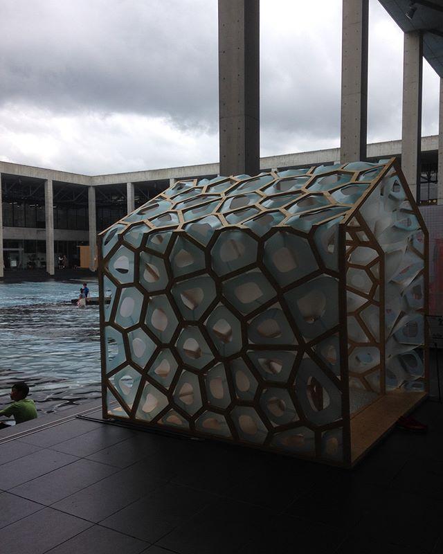 Highlights from Echigo-Tsumari Triennale : Mini pavilions . #art #echigotsumari #arttriennale2018 #arttriennale #triennale #pavilions #tokamachi #niigata #japan with @katietectonic