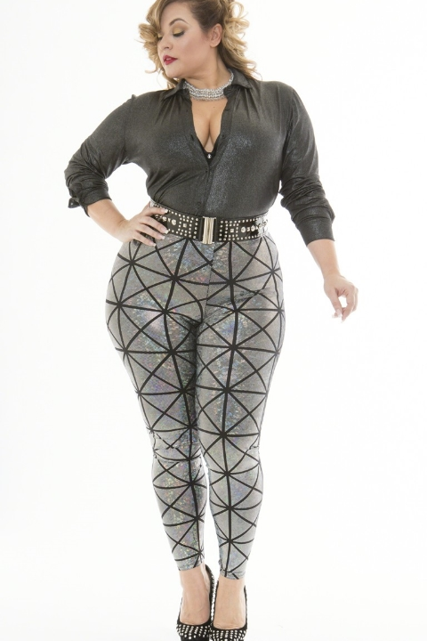 RUE 107                 KAMIE TEXTURED LEGGINGS
