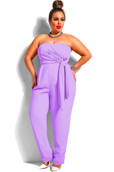 MONIFC              SYDNEY STRAPLESS JUMPSUIT