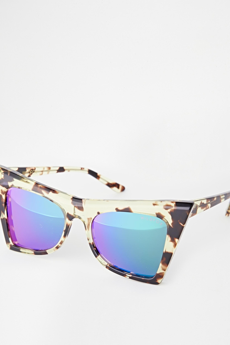 ASOS    WILDFOX IVY DELUXE CAT EYE SUNGLASSES