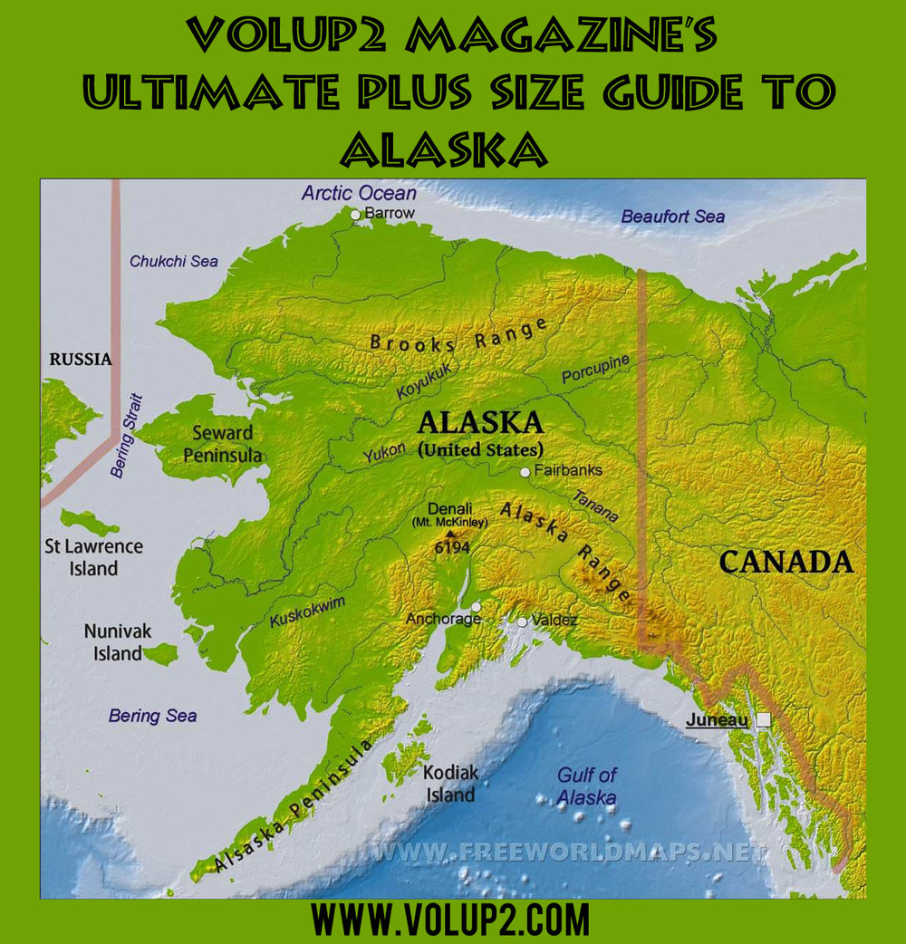 The Ultimate guide to PLUS SIZE ALASKA — VOL•UP•2