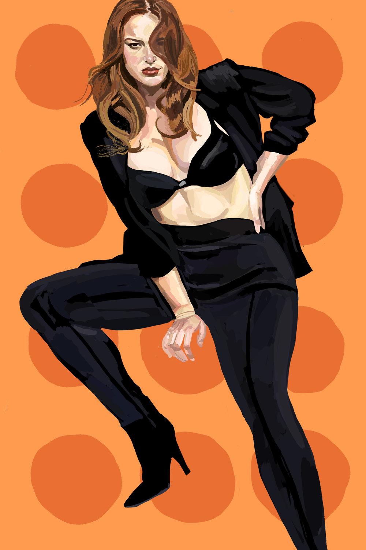 Kylie   -  Original Photo by    Alejandro Poveda