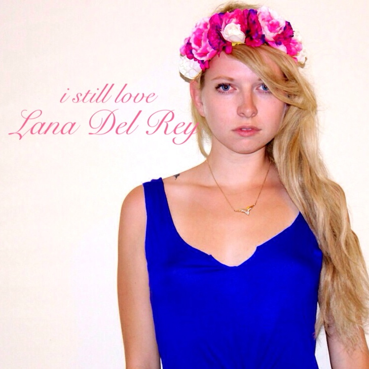 My ode to Lana Del Rey's first album cover!