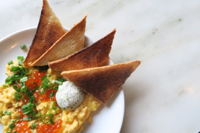 Three Egg & Soft Tofu Scramble