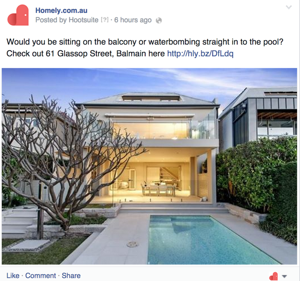 A good listing is the best product you can possibly display on your social channels.