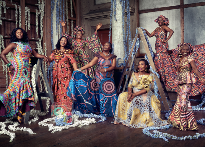 170 Years Of Vlisco Fabrics Copy Tiffany Davenport
