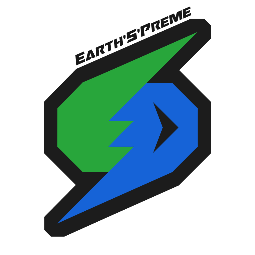 Earth'S'Preme Logo (Coal + Clear).png