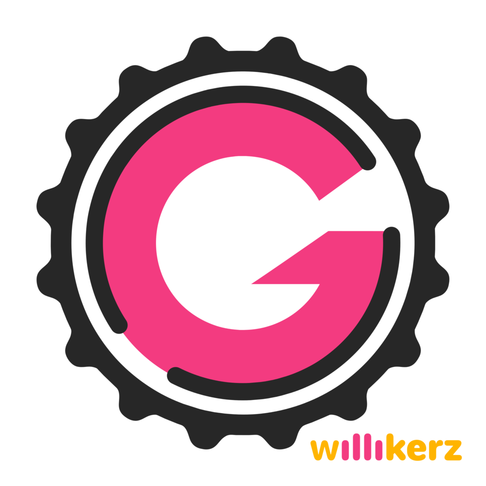 G-Willikers Logo (Black on Clear).png