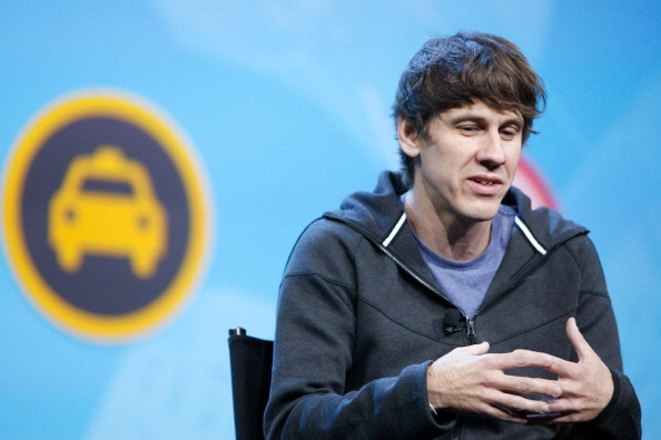 Foursquare CEO and co-founder Dennis Crowley speaks at a tech industry event (Photo: Getty images)